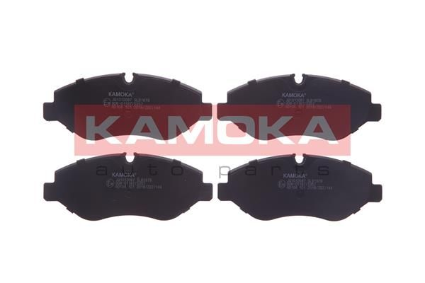 KAMOKA  JQ1012087 Bremsbelagsatz, Scheibenbremse Höhe: 67mm, Dicke/Stärke: 20,8mm