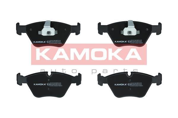 KAMOKA  JQ1012146 Bremsbelagsatz, Scheibenbremse Breite 1: 155mm, Höhe 1: 64mm, Dicke/Stärke: 20,3mm