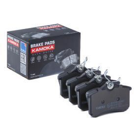 KAMOKA  JQ1012166 Bremsbelagsatz, Scheibenbremse Breite: 87,6mm, Höhe: 52,9mm, Dicke/Stärke: 17,5mm