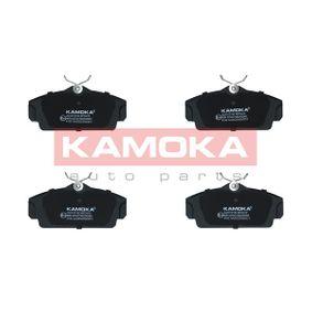 Bremsbelagsatz, Scheibenbremse Breite: 124mm, Höhe: 57mm, Dicke/Stärke: 16,6mm mit OEM-Nummer 440604U090