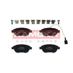 Bremsbelagsatz, Scheibenbremse Breite: 137mm, Höhe: 57mm, Dicke/Stärke: 18,4mm mit OEM-Nummer 77362712