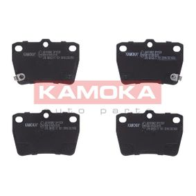 Brake Pad Set, disc brake JQ1013062 RAV 4 II (CLA2_, XA2_, ZCA2_, ACA2_) 2.0 D 4WD (CLA20_, CLA21_) MY 2004