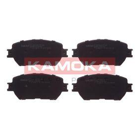 Bremsbelagsatz, Scheibenbremse Breite: 131mm, Höhe: 59mm, Dicke/Stärke: 17,3mm mit OEM-Nummer 04465-33250