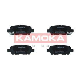 Nissan Qashqai j10 1.5dCi Bremsbeläge KAMOKA JQ1013386 (1.5dCi Diesel 2013 K9K 430)