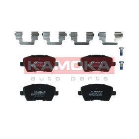 Bremsbelagsatz, Scheibenbremse Breite: 116mm, Höhe: 52mm, Dicke/Stärke: 17,4mm mit OEM-Nummer D1060-AX61A-