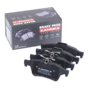 2008 Mazda 3 BL 1.6 MZR Brake Pad Set, disc brake JQ1013532