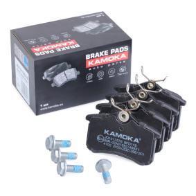 Bremsbelagsatz, Scheibenbremse Breite: 87,6mm, Höhe: 52,9mm, Dicke/Stärke: 16,5mm mit OEM-Nummer 8E0-698-451-L