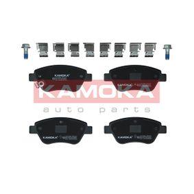 Комплект спирачно феродо, дискови спирачки JQ1013840 Corsa D Хечбек (S07) 1.3CDTI (L08, L68) Г.П. 2009