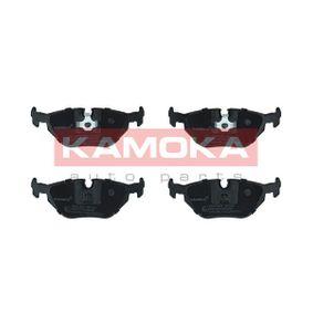 KAMOKA  JQ1013870 Bremsbelagsatz, Scheibenbremse Breite: 123mm, Höhe: 45mm, Dicke/Stärke: 17,3mm