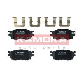 Brake Pad Set, disc brake JQ1013910 RIO 2 (JB) 1.5 CRDi MY 2011