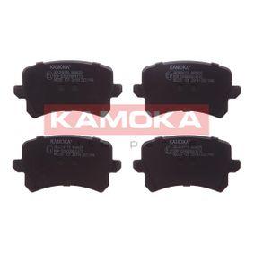 Bremsbelagsatz, Scheibenbremse Breite: 105mm, Höhe: 56mm, Dicke/Stärke: 16,9mm mit OEM-Nummer 3C0-698-451-B