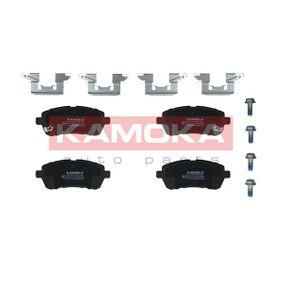 Brake Pad Set, disc brake JQ1018454 FIESTA 6 1.6 TDCi MY 2015