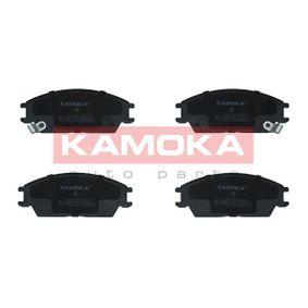 Bremsbelagsatz, Scheibenbremse Breite: 127mm, Höhe: 49mm, Dicke/Stärke: 15mm mit OEM-Nummer 58101 1CA00