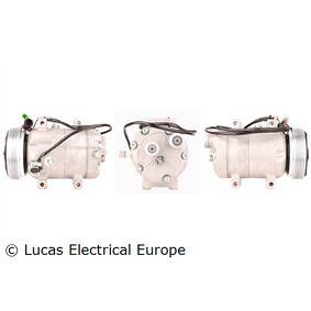LUCAS ELECTRICAL Kompressor, Klimaanlage ACP160 für AUDI 80 (8C, B4) 2.8 quattro ab Baujahr 09.1991, 174 PS
