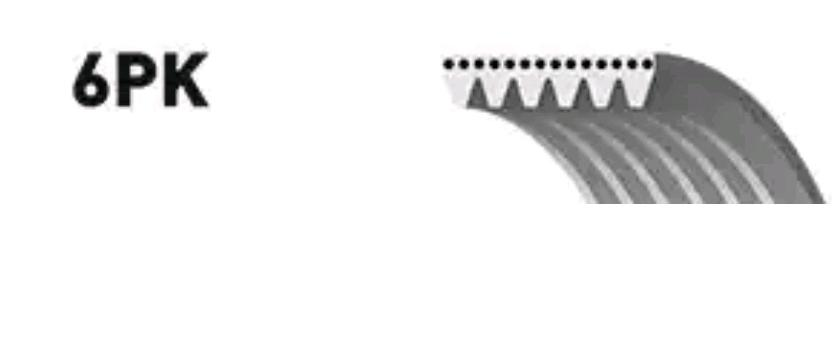 Ribbed Belt GATES 6DPK1198 rating