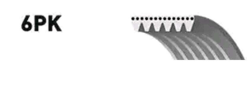 Poly V Snaar GATES 6PK1041 5414465359477