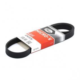 V-Ribbed Belts 6PK1078 OCTAVIA (1U2) 1.4 16V MY 2007