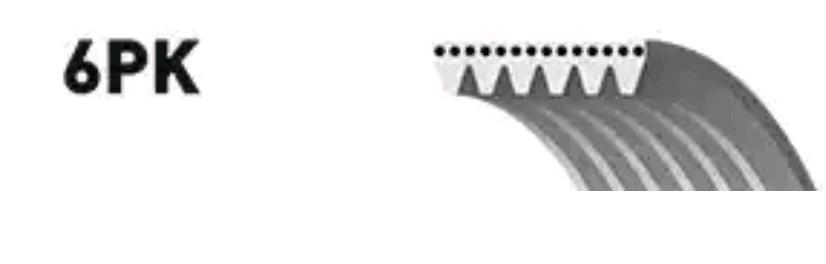 Rippenriemen & Keilrippenriemensatz GATES 6PK1126 5414465352881