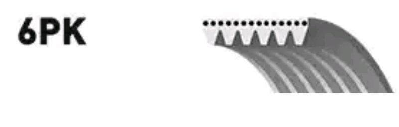 Ribbed Belt GATES 6PK1207 rating