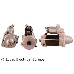 Motorino d'avviamento (LRS01592) per per Motorino D'avviamento FIAT DUCATO Pianale piatto/Telaio (230) 2.8 TDI dal Anno 12.1998 122 CV di LUCAS ELECTRICAL