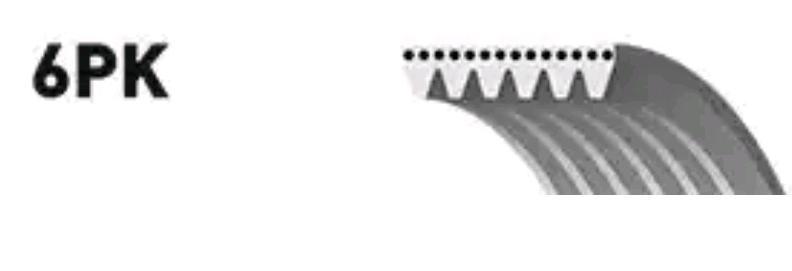 Ribbed Belt GATES 6PK1665 rating