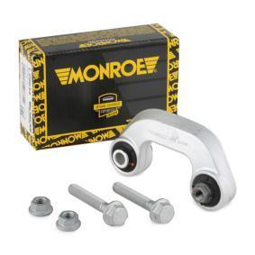 MONROE Stange/Strebe, Stabilisator L29633 für AUDI A4 Avant (8E5, B6) 3.0 quattro ab Baujahr 09.2001, 220 PS