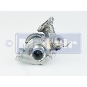 MOTAIR Turbocompresor, sobrealimentación 334865 con OEM número 9657603780