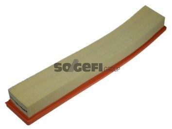 PURFLUX  A1132 Luftfilter Länge: 520mm, Breite: 86mm, Höhe: 58mm, Länge: 520mm