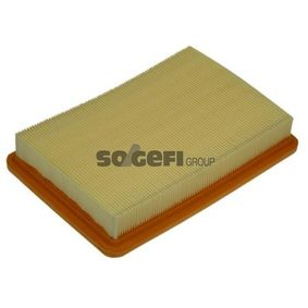 Air Filter Length: 253mm, Width: 174mm, Height: 40mm, Length: 253mm with OEM Number 28113 2D000