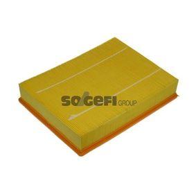 Luftfilter Länge: 303mm, Breite: 225mm, Höhe: 58mm mit OEM-Nummer PHE 000112