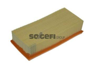 PURFLUX  A1307 Luftfilter Länge: 250mm, Breite: 116mm, Höhe: 58mm, Länge: 250mm