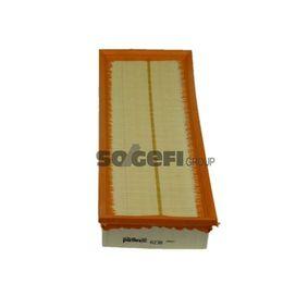Luftfilter Länge: 370mm, Breite: 150mm, Höhe: 57mm, Länge: 370mm mit OEM-Nummer PC604