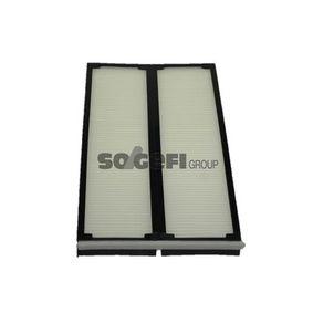 Filter, Innenraumluft Länge: 370mm, Breite: 212mm, Höhe: 28mm mit OEM-Nummer 001 835 30 47