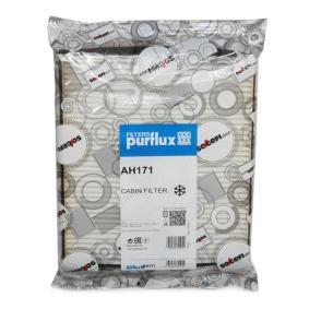 Filter, Innenraumluft Länge: 269mm, Breite: 240mm, Höhe: 30mm mit OEM-Nummer 180 2422