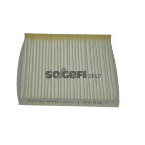 Filter, Innenraumluft Länge: 219mm, Breite: 201mm, Höhe: 20mm mit OEM-Nummer 88568 02020