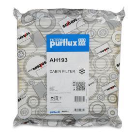 Filter, Innenraumluft Länge: 224mm, Breite: 219mm, Höhe: 35mm mit OEM-Nummer 6447-KR