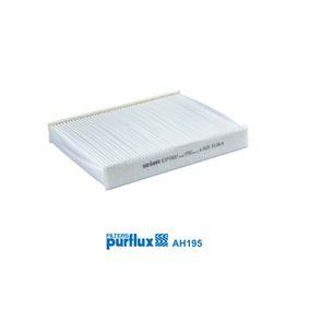 Filter, Innenraumluft Länge: 240mm, Breite: 191mm, Höhe: 34mm mit OEM-Nummer 2S6J-19G244-AA
