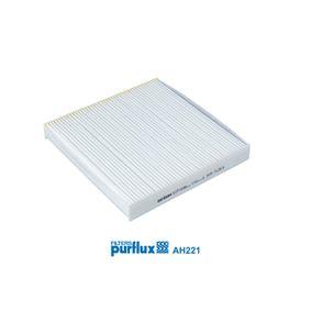 Filter, Innenraumluft Länge: 235mm, Breite: 225mm, Höhe: 30mm mit OEM-Nummer 80292-SDC-505HE