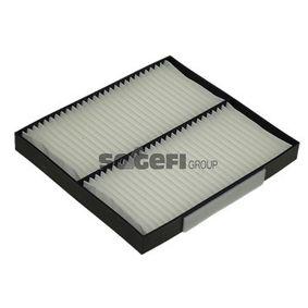 Filter, Innenraumluft Länge: 215mm, Breite: 194mm, Höhe: 22mm mit OEM-Nummer GS1-D61-P11