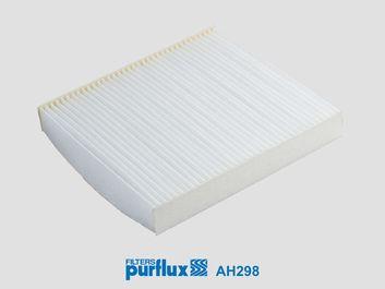 PURFLUX  AH298 Filter, interior air Length: 217mm, Width: 200mm, Height: 30mm