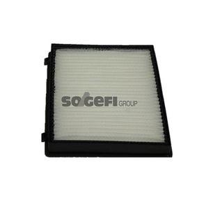 Filter, Innenraumluft Länge: 274mm, Breite: 201mm, Höhe: 25mm mit OEM-Nummer 95599725