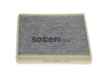 PURFLUX  AHC101 Filter, Innenraumluft Breite: 211mm, Höhe: 18, 19mm