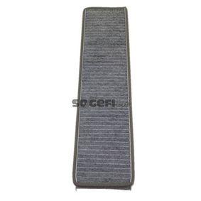 Filter, Innenraumluft Länge: 511mm, Breite: 100mm, Höhe: 30mm mit OEM-Nummer 3 401 703