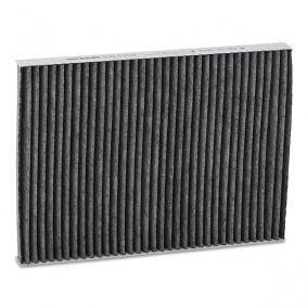 Filter, Innenraumluft Länge: 283mm, Breite: 205mm, Höhe: 25mm mit OEM-Nummer 8L0091800