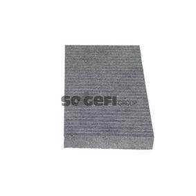 Filter, Innenraumluft Länge: 290mm, Breite: 160mm, Höhe: 30mm mit OEM-Nummer 606 536 41