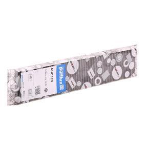 Filter, Innenraumluft Länge: 535mm, Breite: 110mm, Höhe: 25mm mit OEM-Nummer YM2119N551AA