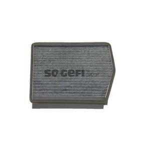 Filter, Innenraumluft Länge: 234mm, Breite: 218mm, Höhe: 30mm mit OEM-Nummer 46722863