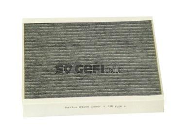 PURFLUX  AHC206 Filter, Innenraumluft Länge: 243mm, Breite: 214mm, Höhe: 33mm