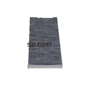 Filter, Innenraumluft Länge: 315mm, Breite: 155mm, Höhe: 40mm mit OEM-Nummer 6441.EJ