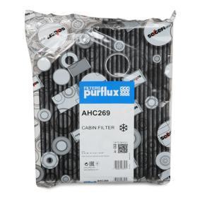 PURFLUX  AHC269 Filter, Innenraumluft Länge: 277mm, Breite: 237mm, Höhe: 35mm